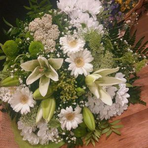 Bouquet ressort blanco